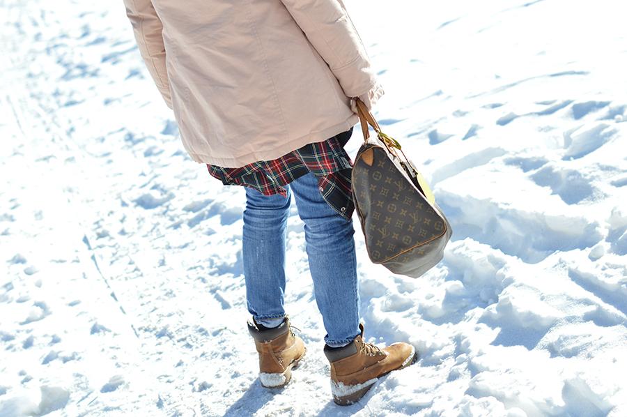 livigno, lungolivigno, da giuseppina livigno, woolrich, woolrich artic parka, zara denim, louis vuitton, louis vuitton bag, louis vuitton speedy 40 bag, timberland, timberland shoes, scarpe timberland, timberland yellow boot