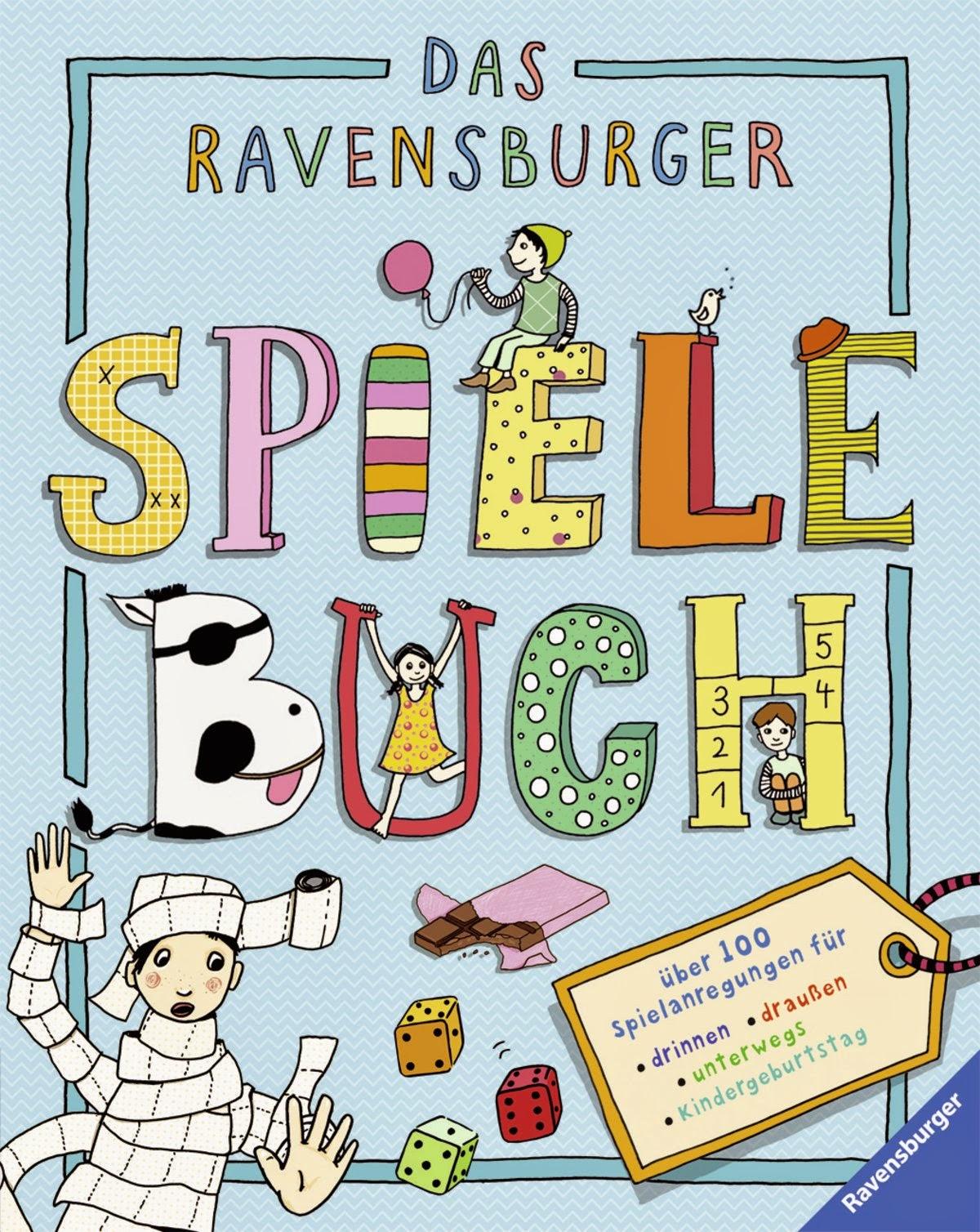 Neu: Das Ravensburger Spielebuch