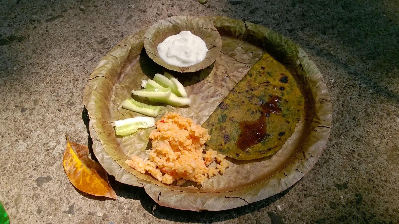 Pune, treks, Food