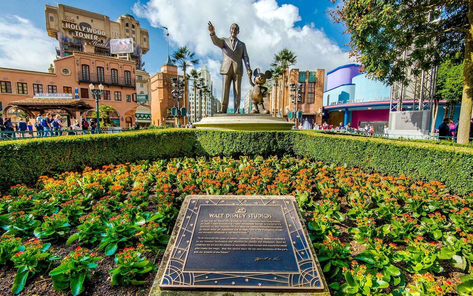 A Walt Disney Studios Welcome