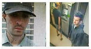 Gambar Rakaman CCTV Suspek Godam Mesin ATM