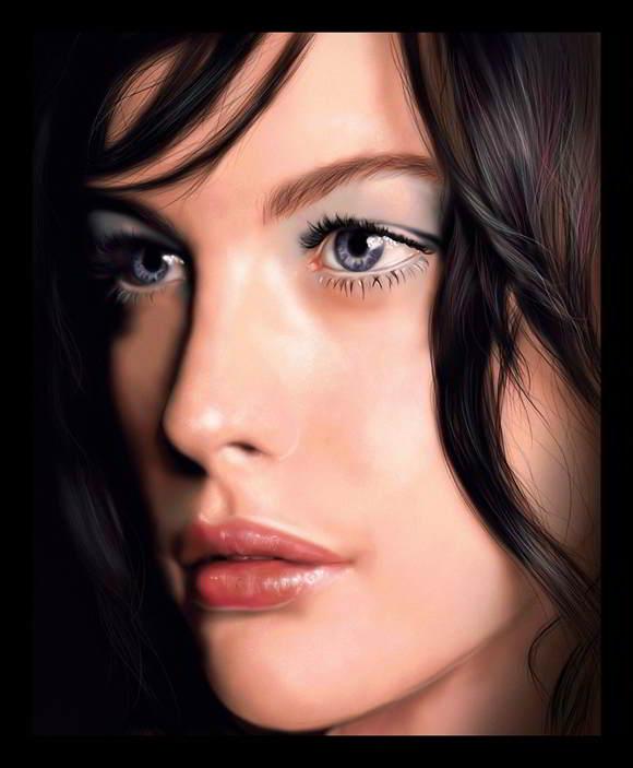 Amazing Faces Painting Portrait