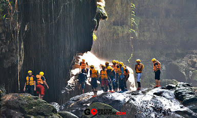 ngarai hijau green canyon indonesia