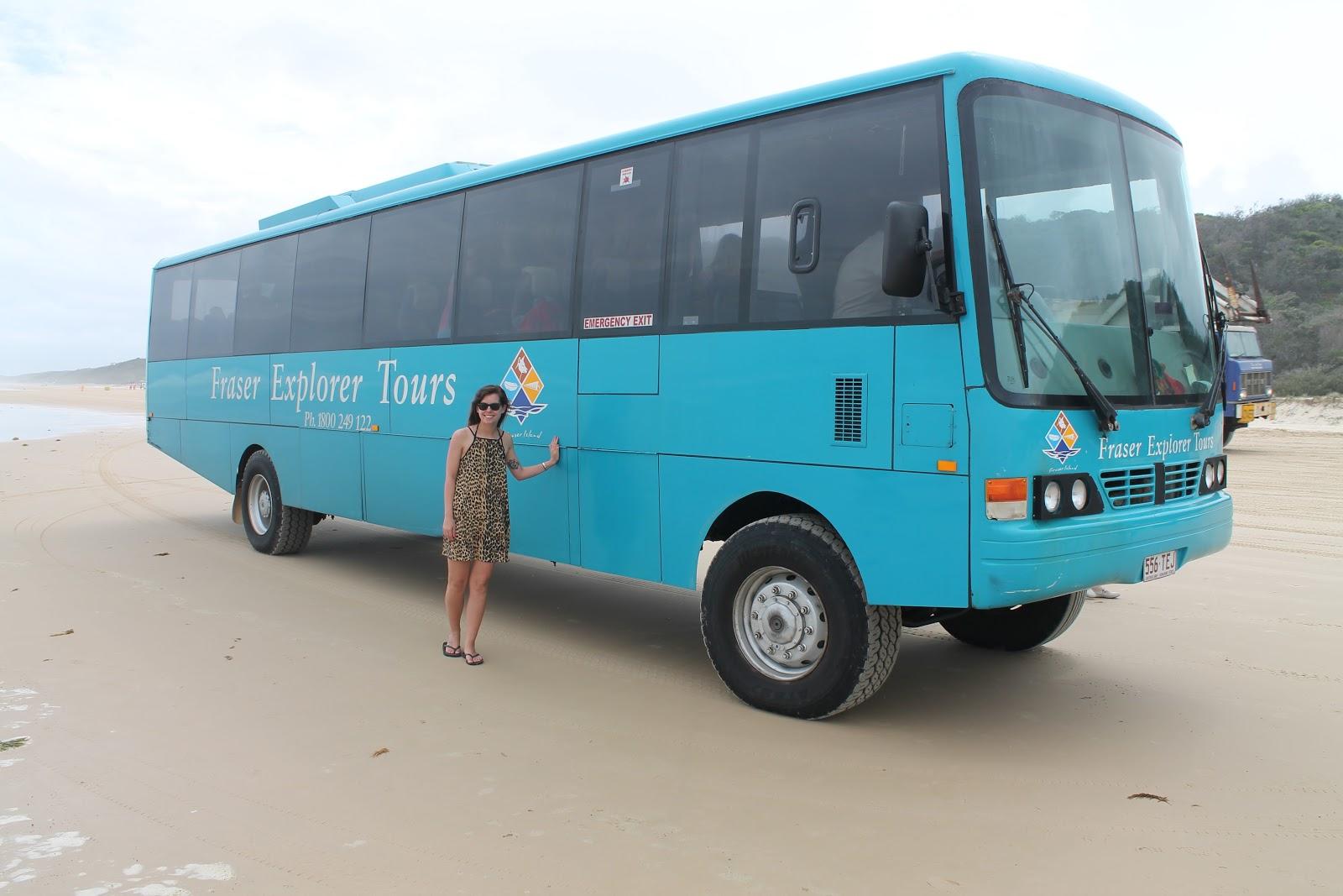 Fraser Island, Queensland, Queensland Bookings, Fraser Island Explorer Tour