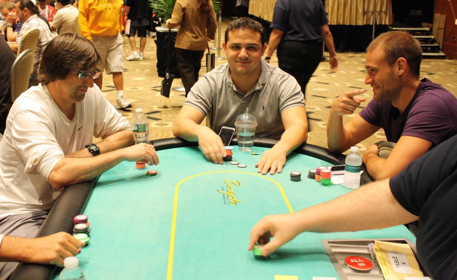 Borgata poker open 2013 event 12 champs at same table for Peter ippolito