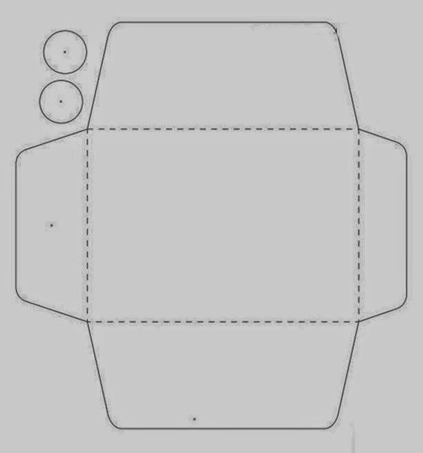 tiny envelope template