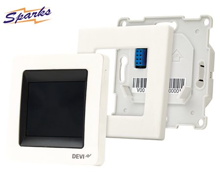 A Full View of the DEVIreg Touch Thermostat
