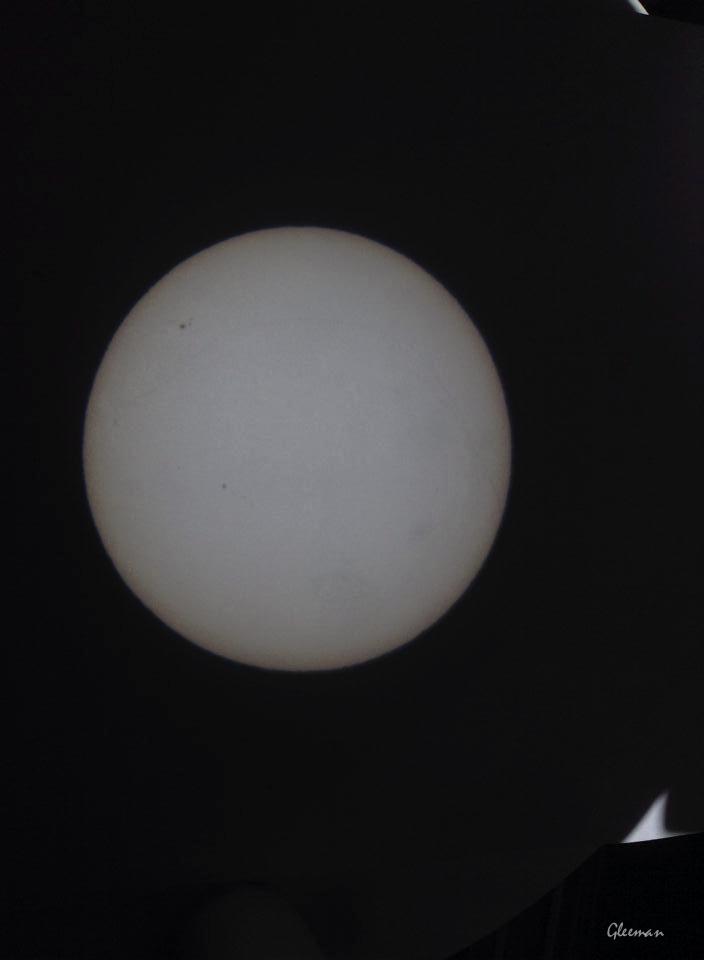 太陽黑子投影