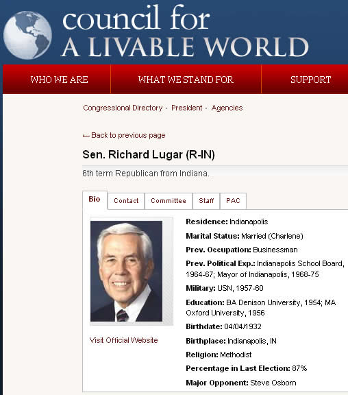 a biography of richard lugar an american politician and member of the republican party The tea party movement appeared to have become a major force in american politics in the 2010 mid  tea party goes cold as us voters reject the far right  republican stalwart richard lugar.