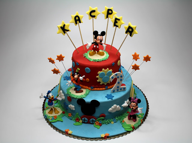 Disney's Birthday Cake London
