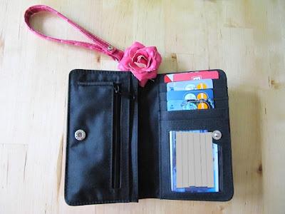 binder clip for wallet