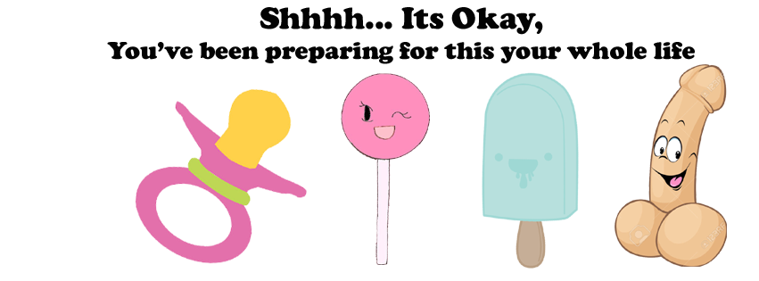 Shhh... it's okay, Funny Blow Job Quote, FB Cover