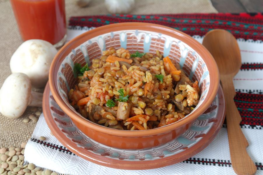 Рис разваривается 1 к