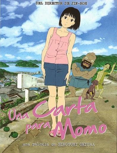 Ver Una carta para Momo (Momo e no Tegami) (2011) Online