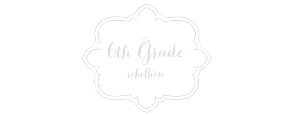 6th Grade Rebellion - Free Blogger Template