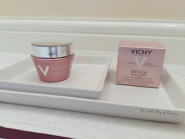 Vichy Idéalia Skin sleep Recovery night gel-balm