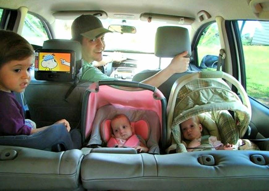 Viajens de carro com Gemelares