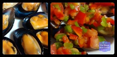 Receta de Mejillones con Picadillo