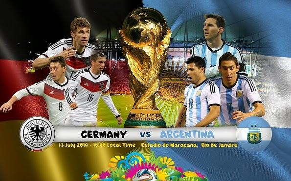 Jadwal Siaran Langsung Final Piala Dunia 2014