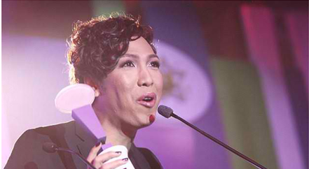 Vice Ganda Yahoo Awards 2012 winner
