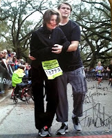 Nic & I at RNR NOLA 2013!!! Signed by Frank Shorter!