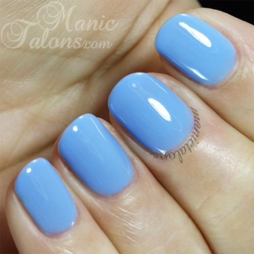 Pink Gellac Gel Polish Sky Blue Swatch