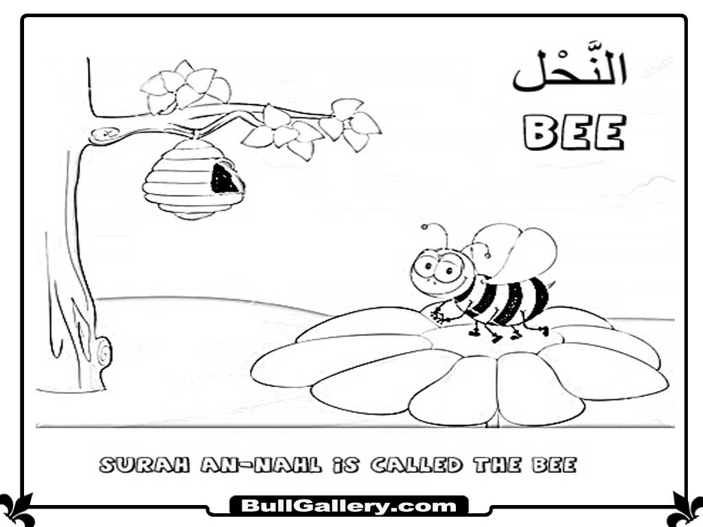 ana muslim coloring pages - photo#34