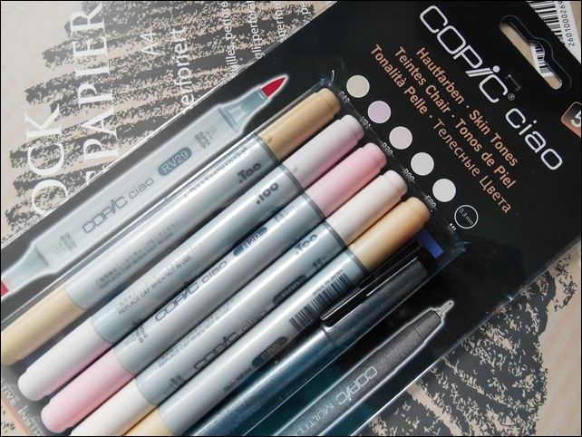 Copic Ciao Skin Tone Set