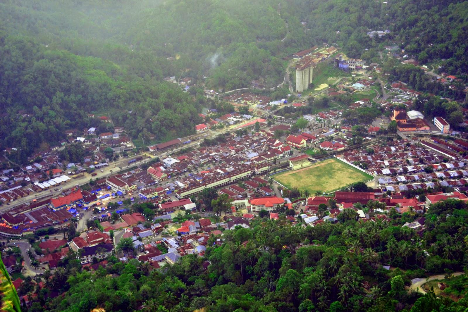 Perencanaan Kota Indonesia: Sawahlunto, Kota Arang Yang Terjaga