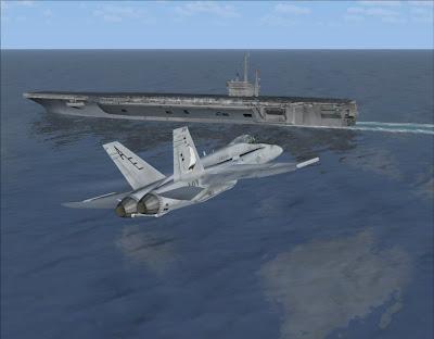 FSX - Trouver des porte-avions