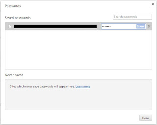 Cara melihat password pada Google Chrome