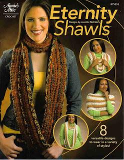 АА Crochet Eternity Shawls 875552
