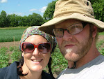 We are Daizy & Jonny Näf, the organic vegetable growers of St. Albert, ON.