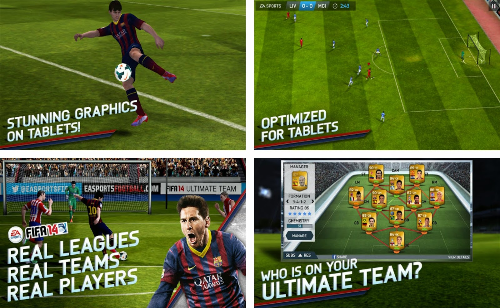 FIFA 14 by EA SPORTS Android Apk Data Full