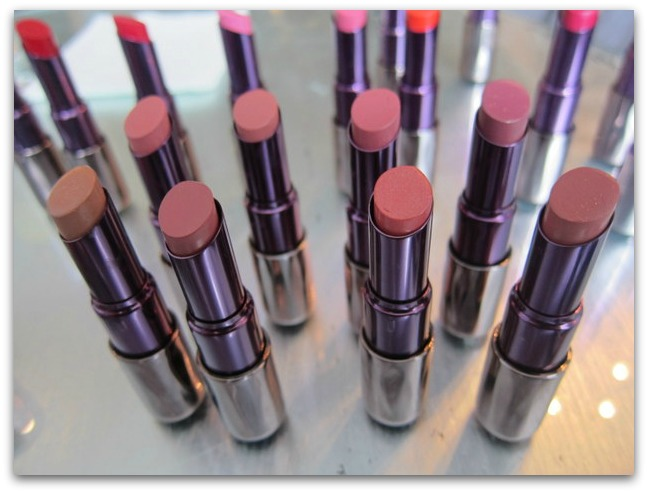 Urban Decay Revolution Lipstick Nudes and Pinks
