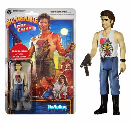 Big Trouble in Little China ReAction Retro Action Figures by Funko & Super7 - Jack Burton