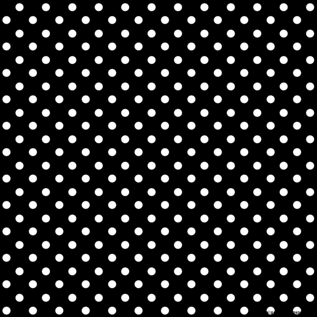 Black and white polka dot pattern - photo#2