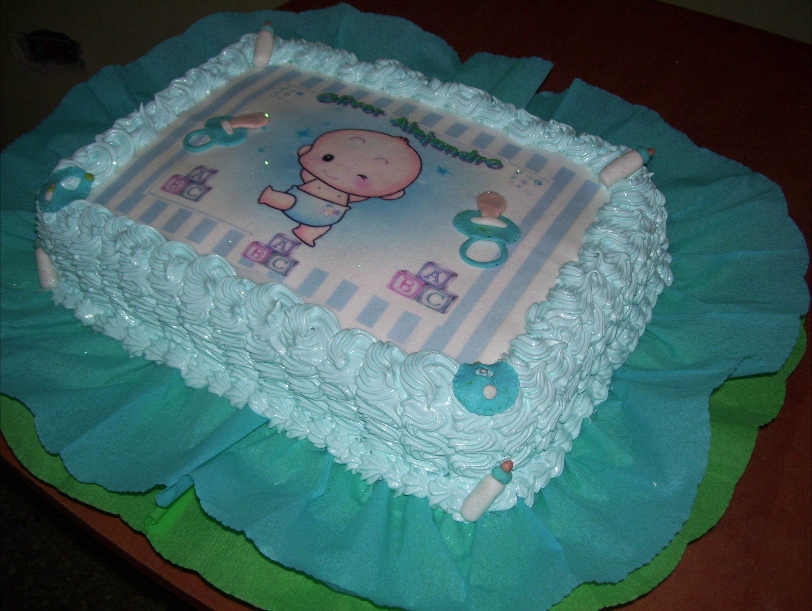 Full Rumbitas Baby Shower: TORTAS Y GELATINAS DECORADAS