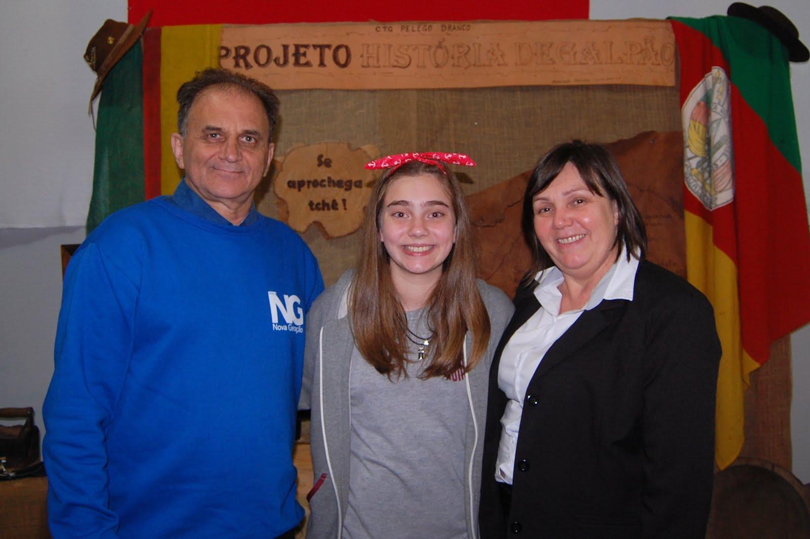 Airton Engster dos Santos, Sofia e Adir Lina