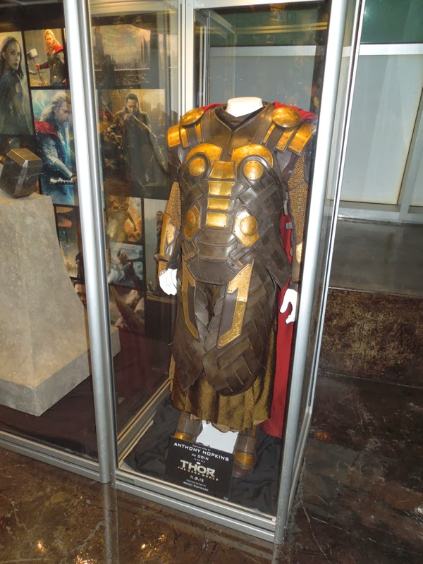Original Anthony Hopkins Odin movie costume Thor 2