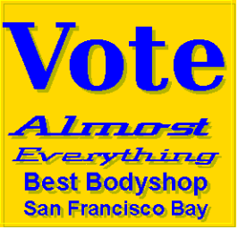 Best Auto Body Shop in San Francisco Bay Area