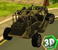 3D Çarpan Araba