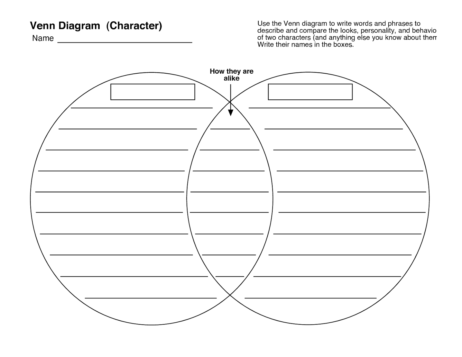 venn diagram 5 circles template - venn diagram maker for kids venn get free image about