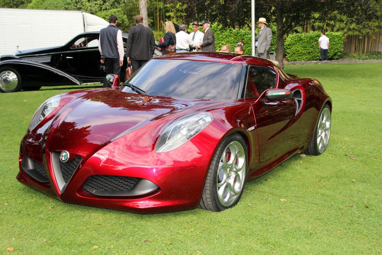 2012 alfa romeo 4c cherry red. Black Bedroom Furniture Sets. Home Design Ideas