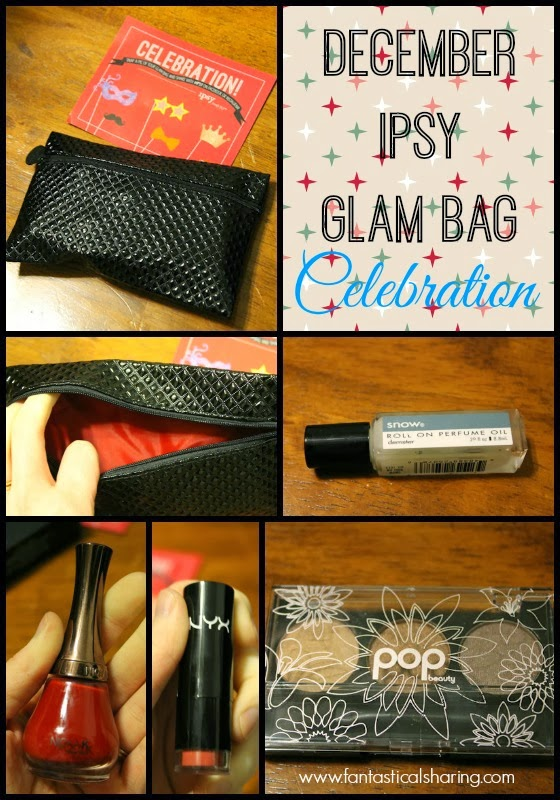 Fantastical Friday: sharing my December #ipsy Glam Bag | #beauty #review