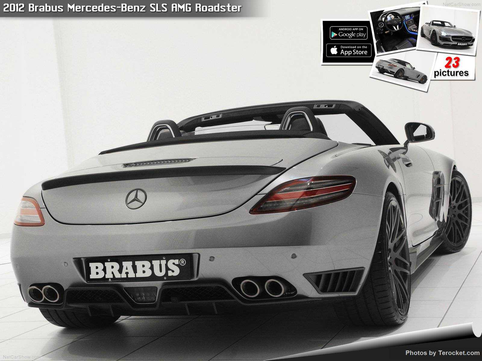 Hình ảnh xe ô tô Brabus Mercedes-Benz SLS AMG Roadster 2012 & nội ngoại thất