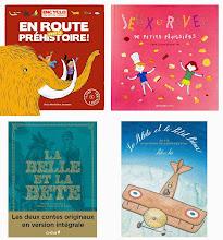 4 nouveautés lectures pour nos loulous : préhistoire, cuisine, La Belle et la Bête, Saint-Exupéry
