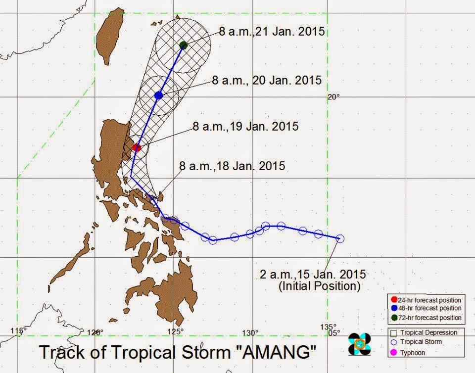 Tropical Storm Amang