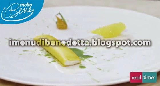 Pasta Ricotta Arancia e Dragoncello di Benedetta Parodi