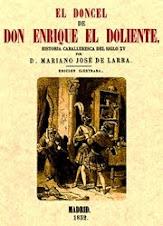 Ahora en el Club de lectura: El doncel de don Enrique el Doliente, de Mariano José de Larra